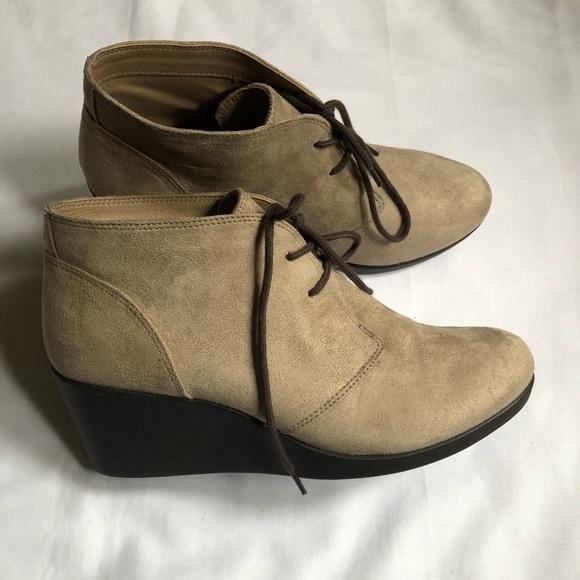 CROCS Shoes   Crocs Leigh Suede Wedge